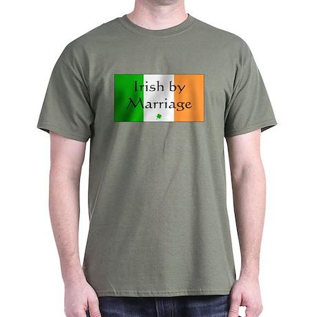 Irish by Marriage Dark T-Shirt