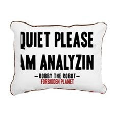 forbidden-planet-quiet-p Rectangular Canvas Pillow