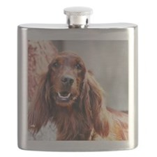 Irish Setter Dog Flask
