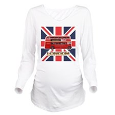 Bus-Queen Long Sleeve Maternity T-Shirt