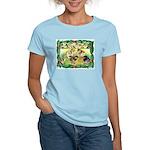 Chicks For Christmas! Women's Light T-Shirt