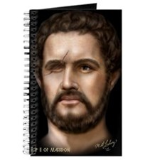 14X10 Philip II of Macedon Print Journal