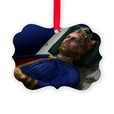 14X10 Richard I Print Ornament