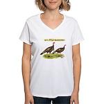 Wild Thanksgiving! Women's V-Neck T-Shirt