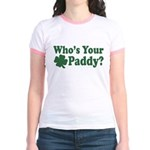 Who's Your Paddy Jr. Ringer T-Shirt