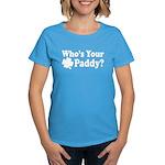 Who's Your Paddy Women's Dark T-Shirt