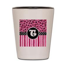 cheetah T Shot Glass