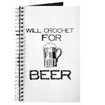 Will Crochet for Beer Journal