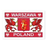 Warszawa Postcards (Package of 8)