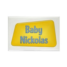 Baby Nickolas Rectangle Magnet