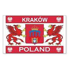 Krakow Rectangle Stickers
