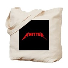 Rock and Roll Knitter Tote Bag