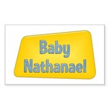 Baby Nathanael Rectangle Bumper Stickers