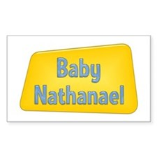 Baby Nathanael Rectangle Decal