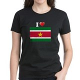 I love Suriname Flag Tee