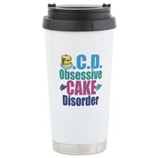 Cute Cake Travel Mug