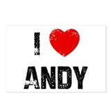 I * Andy Postcards (Package of 8)