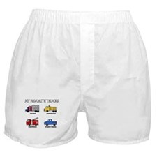 My Favorite Trucks Boxer Shorts
