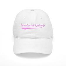 Vintage Equatorial Guinea (Pi Baseball Cap