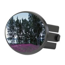 Blooming wildflowers near trees,  Hitch Cover
