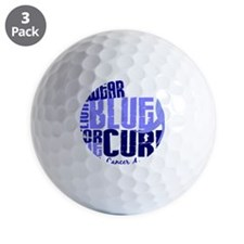 D Cure Golf Ball
