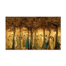 THE 12 DANCING PRINCESSES Rectangle Car Magnet