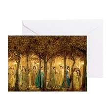THE 12 DANCING PRINCESSES Greeting Card