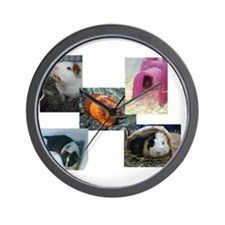 Guinea Pig Photos Wall Clock