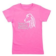 Irish Setter3Romney-dark Girl's Tee