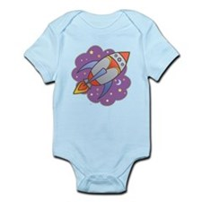 Retro Rocket Infant Bodysuit