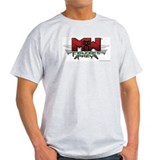 MechWarrior: Falcon's Prey Ash Grey T-Shirt