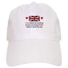 British Love Baseball Cap