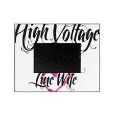 high voltage line wife white shirt Picture Frame