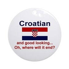Good Looking Croatian Keepsake Ornament