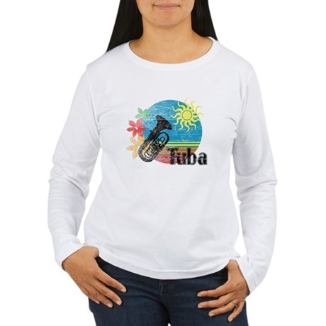Hawaiian Tuba Women's Long Sleeve T-Shirt