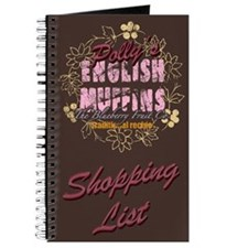 English Muffins Shopping List Note Book