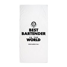 The Best in the World – Bartender Beach Towel