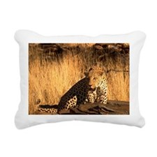 African leopard Rectangular Canvas Pillow