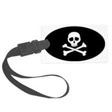 skullbones Luggage Tag