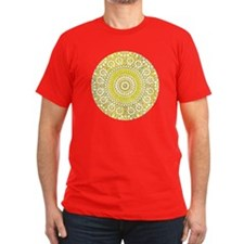 cp mosaic circle yello T