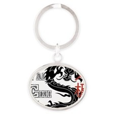 tai42light Oval Keychain