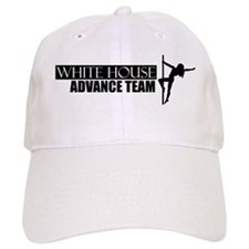 Advance Team - On White 8.3x3 Baseball Cap