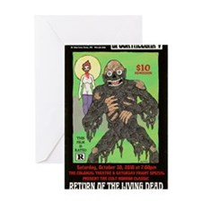 return living dead hartter Greeting Card