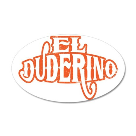 ElDuderino 35x21 Oval Wall Decal