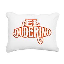 ElDuderino Rectangular Canvas Pillow