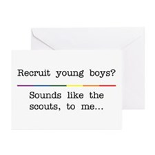 Recruiting? Greeting Cards (Pk of 10)