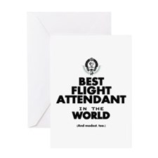 The Best in the World – Flight Attendant Greeting