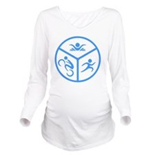 Tri1 Long Sleeve Maternity T-Shirt