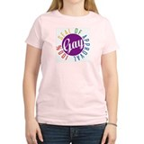 Gay Seal of Approval Women's Pink T-Shirt