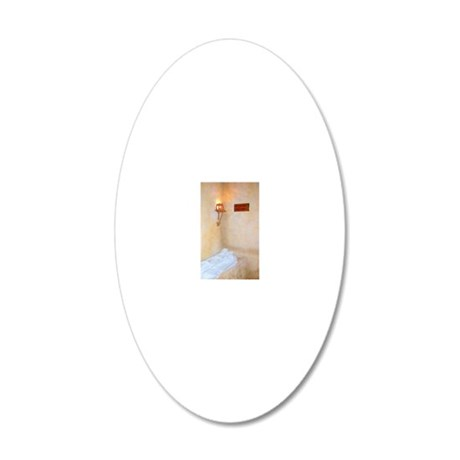 He Is Not Here - He Is Risen 20x12 Oval Wall Decal